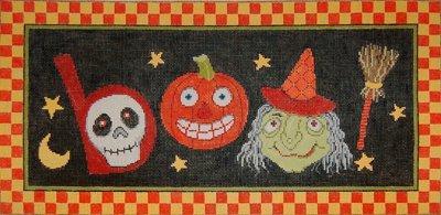 Halloween Needlepoint Yikes