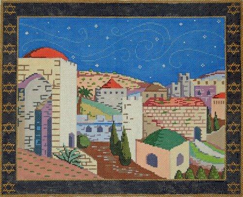 Tallis Needlepoint Jerusalem