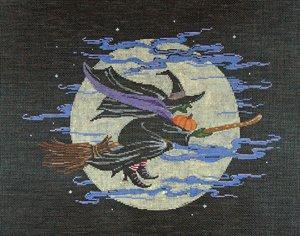 Halloween Needlepoint<BR>Elfaba