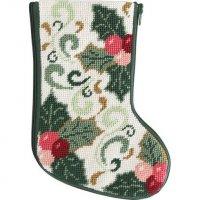 mini Christmas stocking needlepoint kits