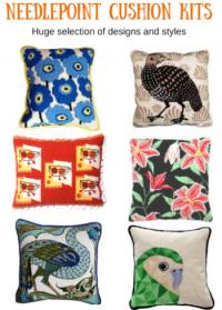 needlepoint cushion kits
