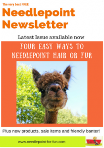 the best needlepoint blog newsletter