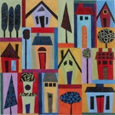 It takes a village needlepoint by S Garris