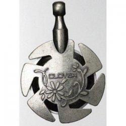 clover yarn cutter silver