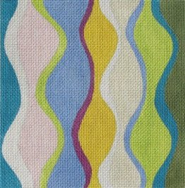 Wavy Harlequin by Sally Corey