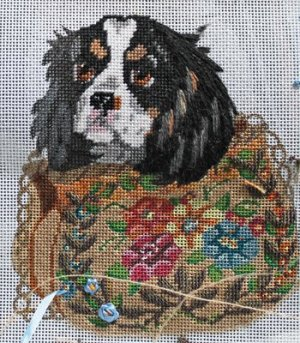 Spaniel puppy purse by JulieMar