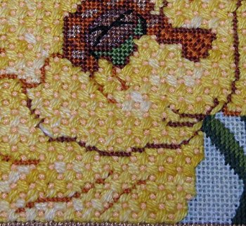 criss cross hungarian needlepoint stitch
