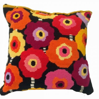 modern needlepoint pillow kits