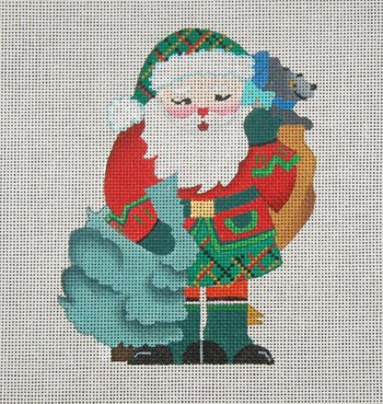 Scottish Santa by DEDE