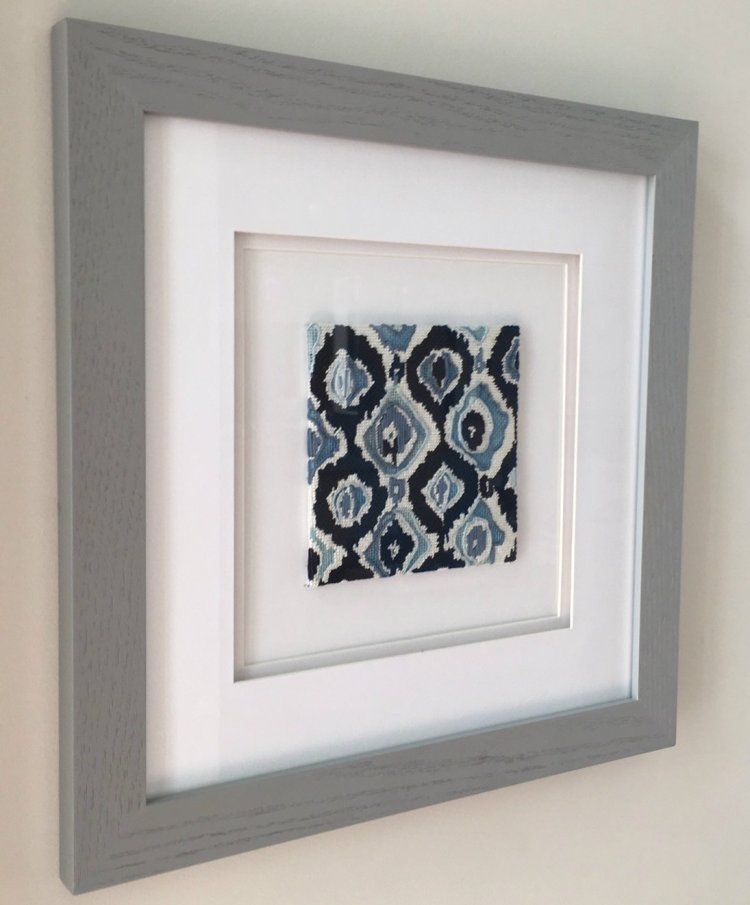 how to frame needlepoint