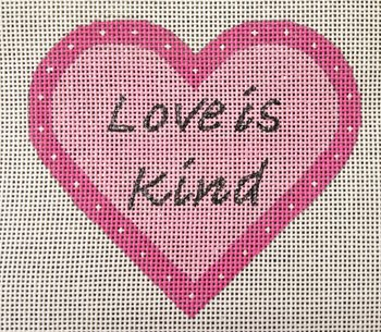 Heart Ornament - LOVE is Kind