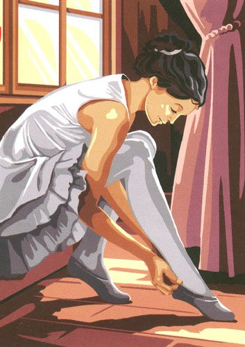 Penelope Needlepoint<BR>The Dancer