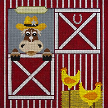 JP Needlepoint A horse is a horse