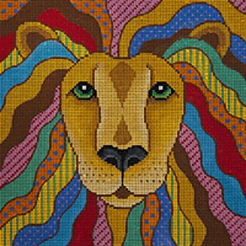 JP Needlepoint Lio the Lionhearted