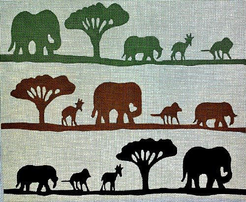 African Safari Needlepoint