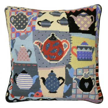 Afternoon Tea Patchwork Needlepoint kit