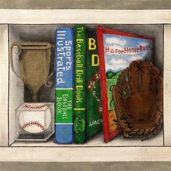 Baseball book nook