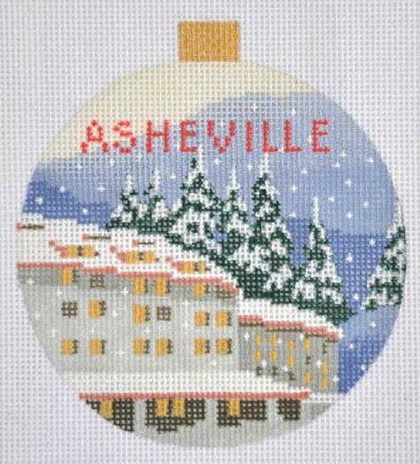 Asheville Needlepoint Travel Round