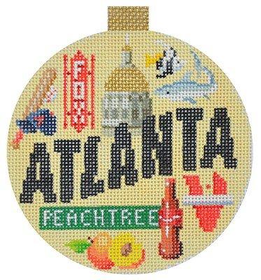 Atlanta Needlepoint Travel Round