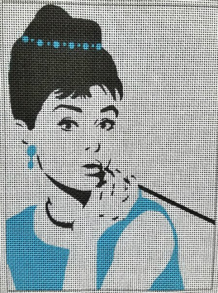 Breakfast at Tiffany's Needlepoint