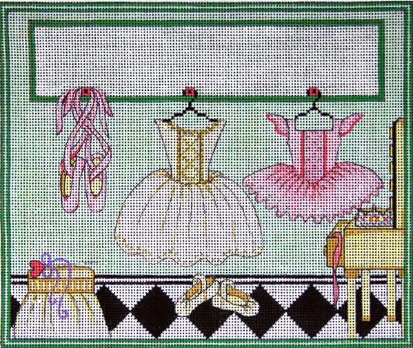 Ballerina's Room Needlepoint