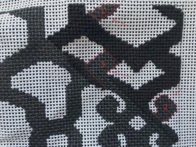 basketweave stitch needlepoint