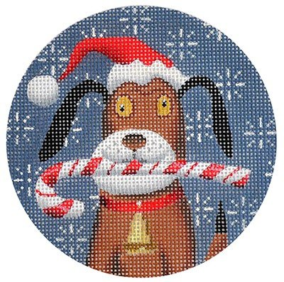 Beagle Needlepoint Ornament