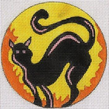 Black Cat halloween design by JulieMar