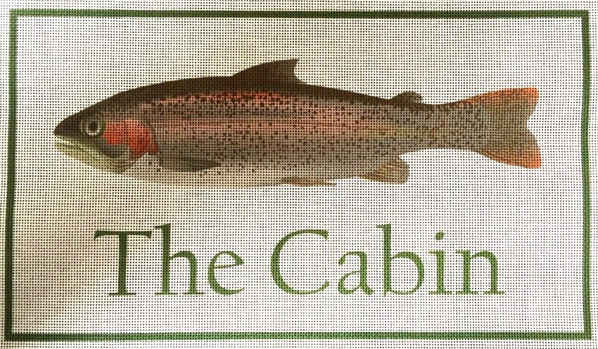 The Cabin Needlepoint
