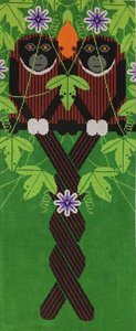 Charley Harper Needlepoint Love On A Limb