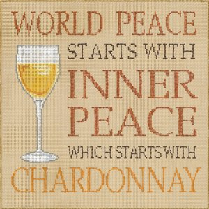 World Peace Starts With Chardonnay
