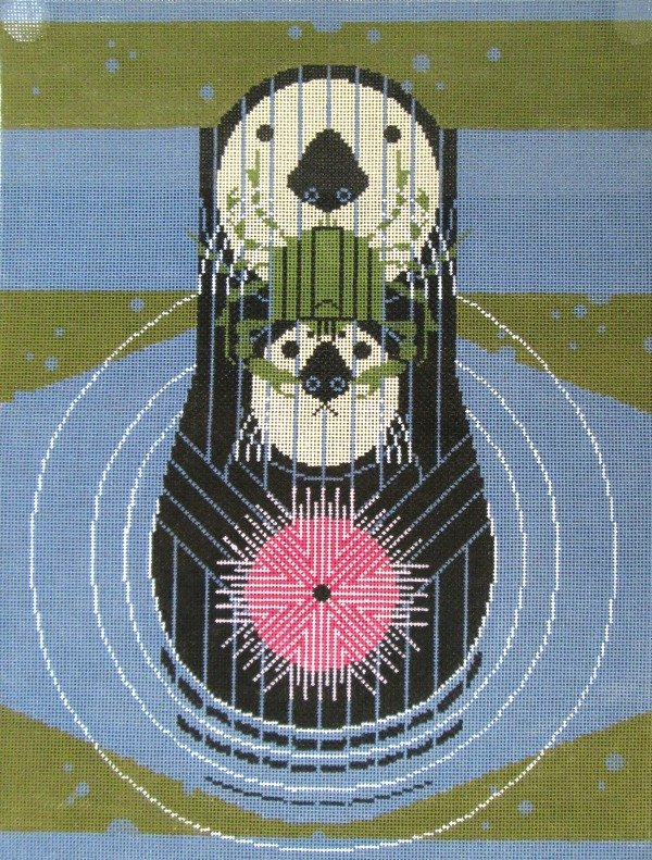 Charley Harper Needlepoint Devotion Ocean