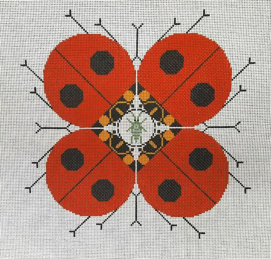 Charley Harper Needlepoint Last Aphid
