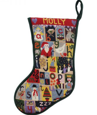 Alphabet Christmas Stocking kit