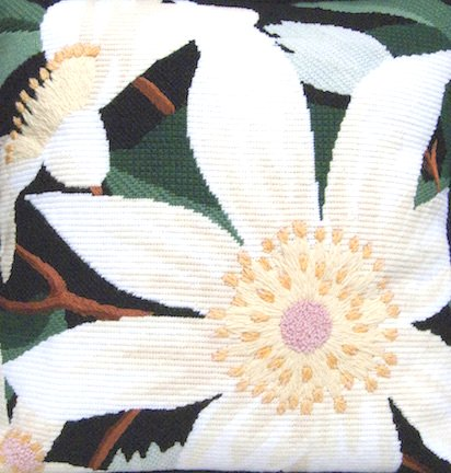 Clematis Needlepoint Kit