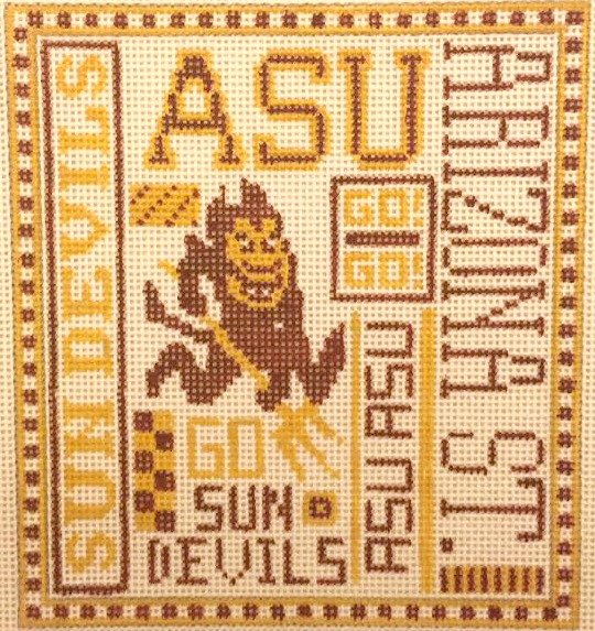 College Needlepoint - ASU