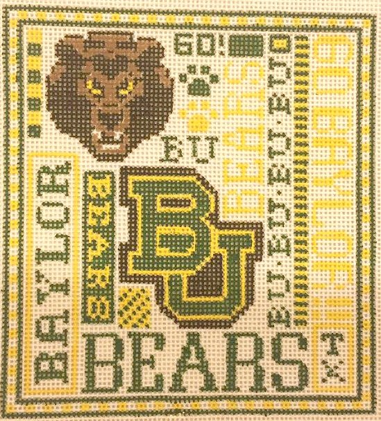 College Needlepoint - Baylor College