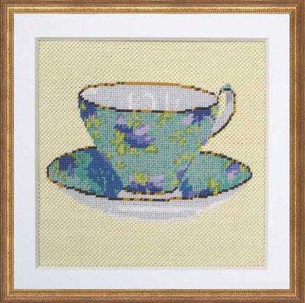 Cornflower Teacup