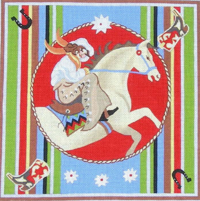 Maggie Needlepoint Cowgirl