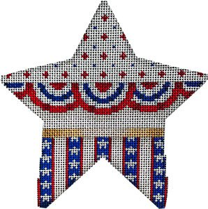 Buntings stars on stripes