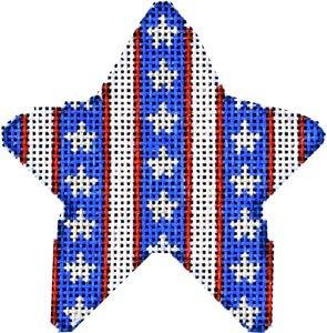 Stripes mini star