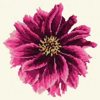 Blooms Dahlia tapestry kit by Elizabeth Bradley