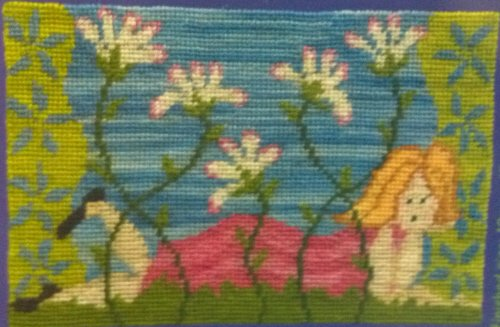 Daisy Chain Needlepoint Kit