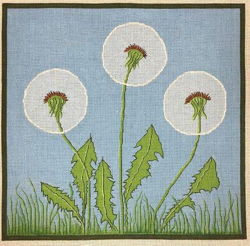 Dandelions Needlepoint