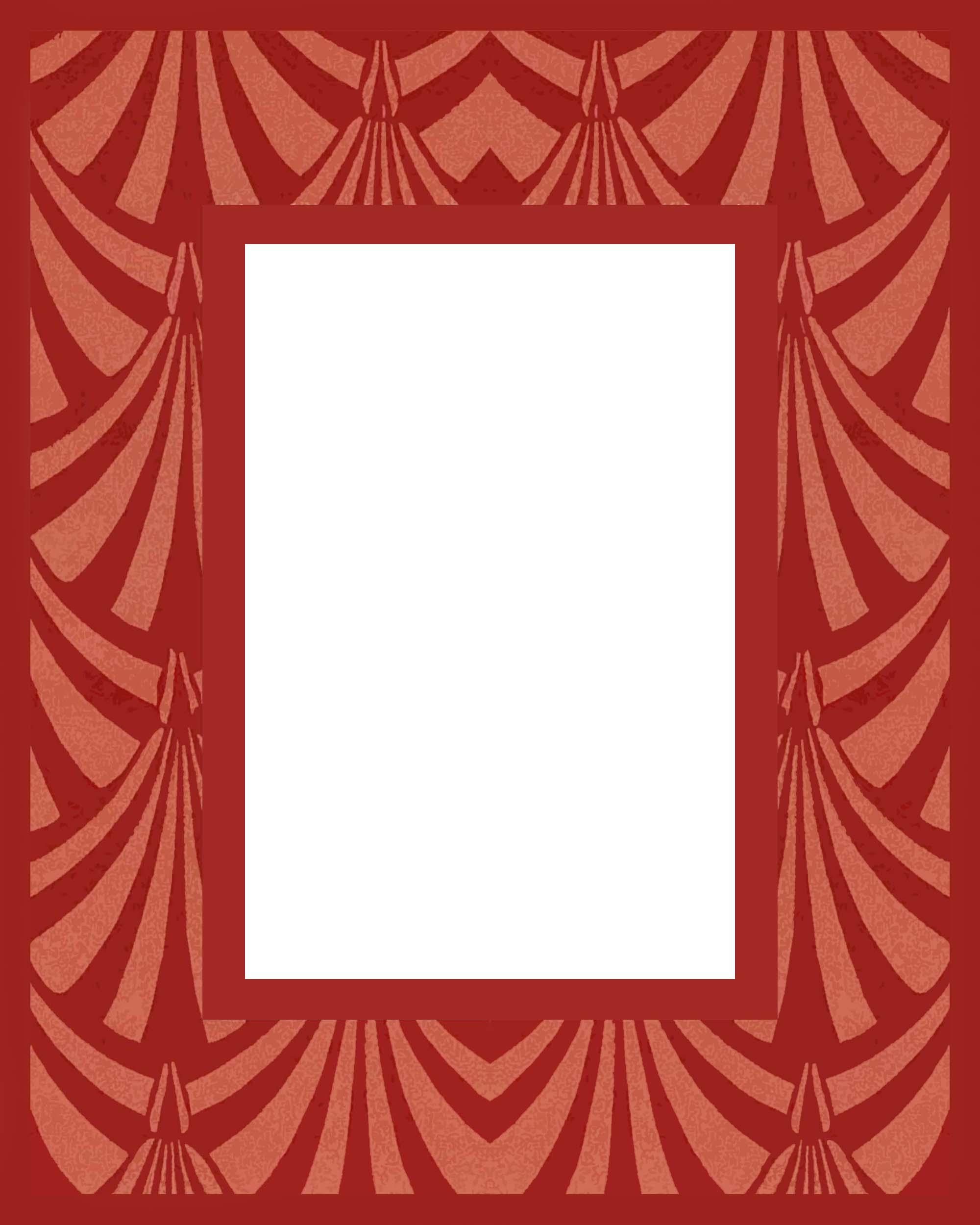 Needlepoint Frame Art Deco 1