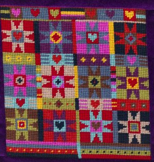 Alhambra Stars Needlepoint Kit