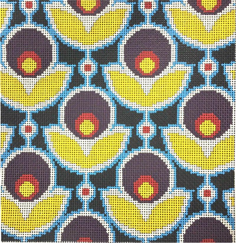 Primrose Navy floral print
