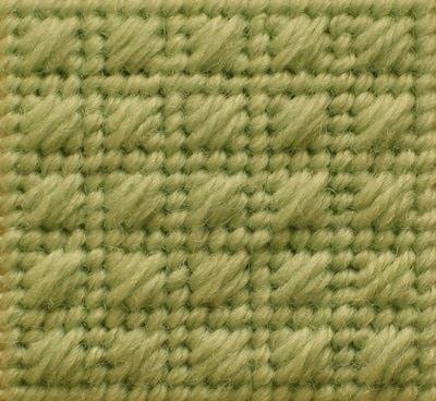 framed scotch stitch needlepoint
