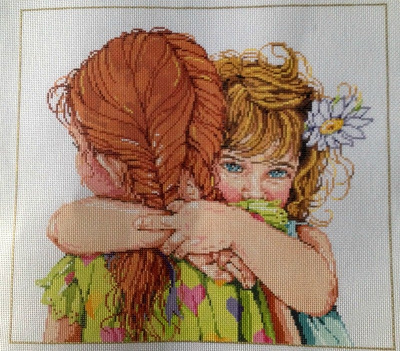 You've Got A Friend<BR>Sandra Gilmore Needlepoint