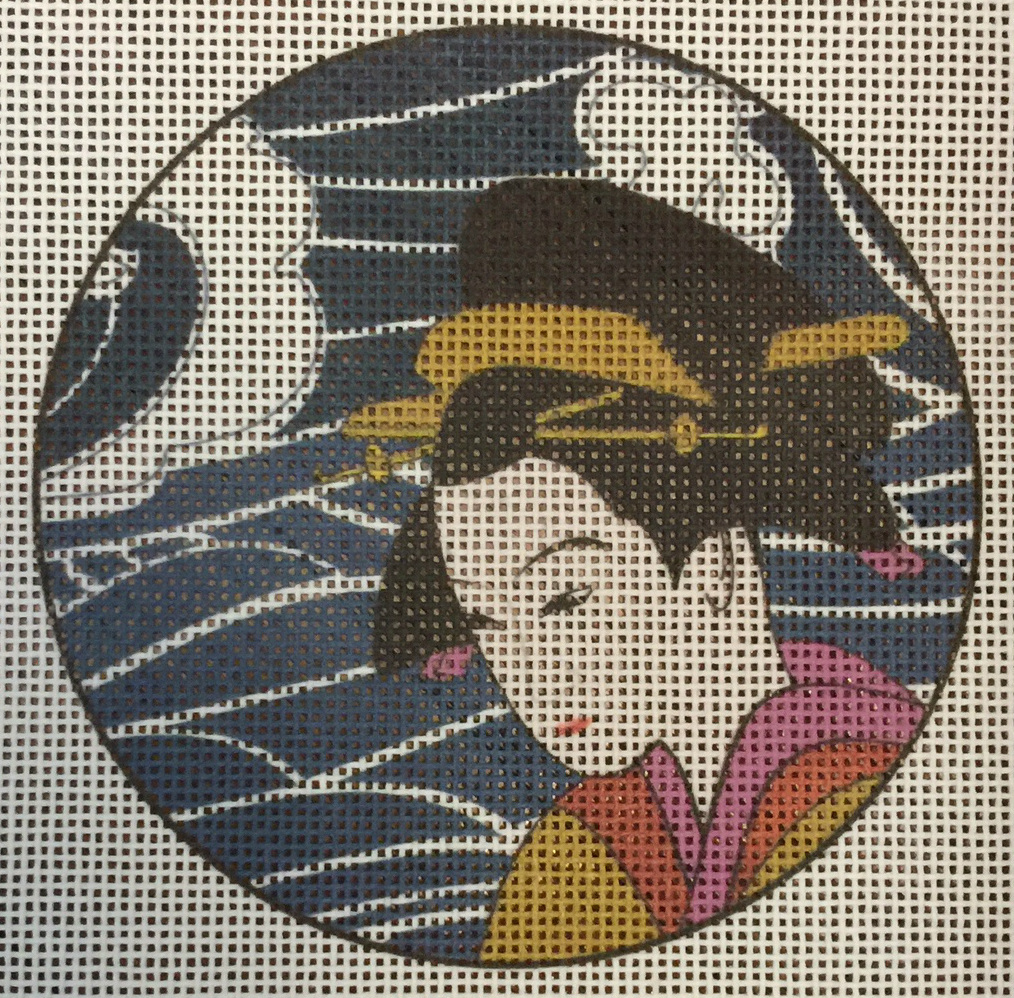 Geisha Needlepoint
